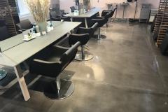 Hinz & Kunst Haarkultur - Dekorestrich im Coiffeursalon