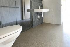 Wohn- und Geschäftshaus Amtshausquai, Olten – Zement-Dekorestrich